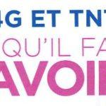 4G et TNT: ce qu'il faut savoir